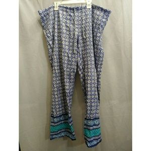 Lucky brand wide leg drawstring pants
